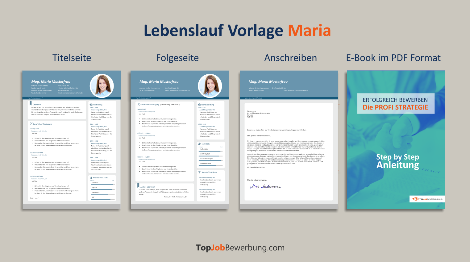 Download Lebenslauf Vorlage