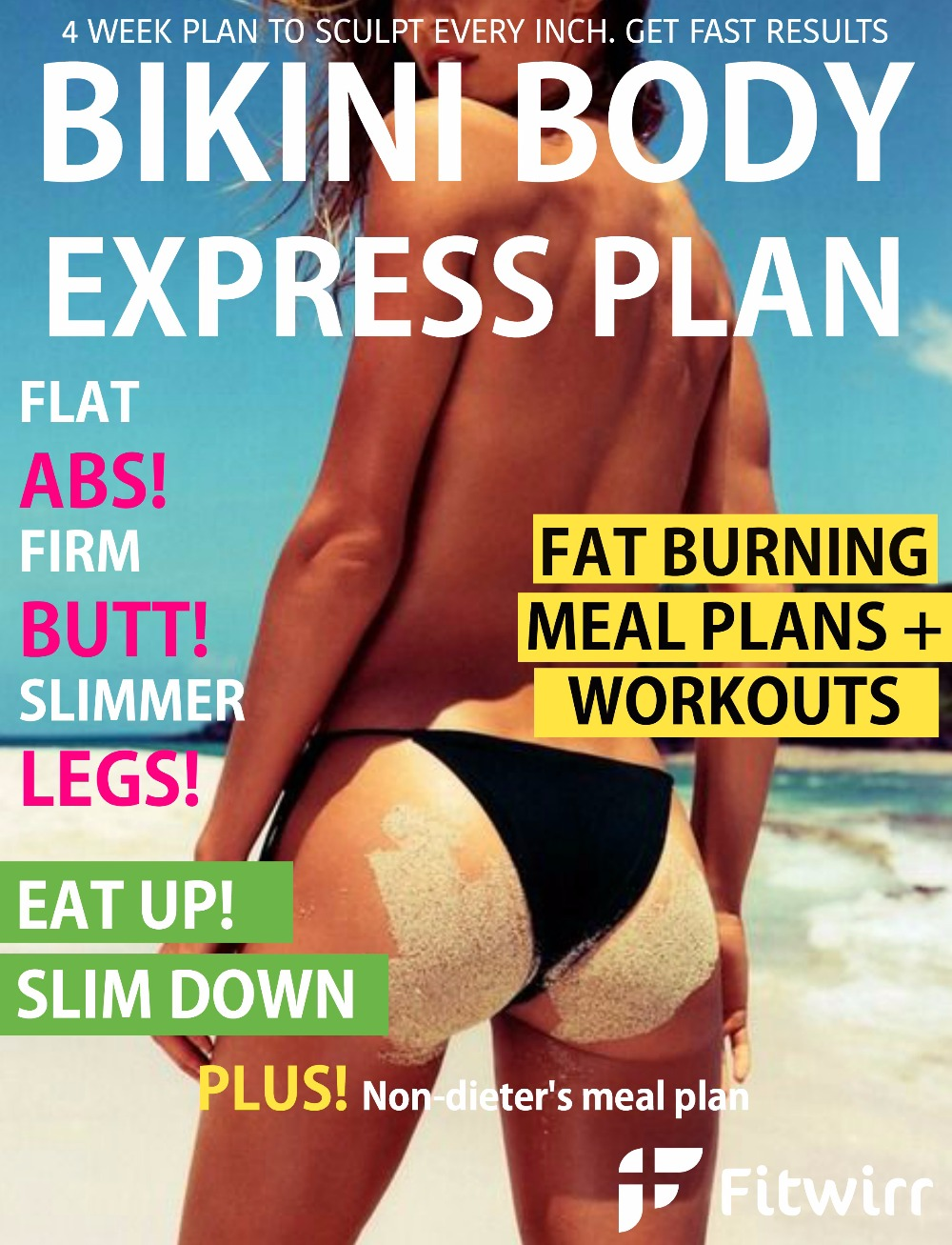 Bikini Body the Express Plan - Flat Abs, Firm Butt & Slim Legs