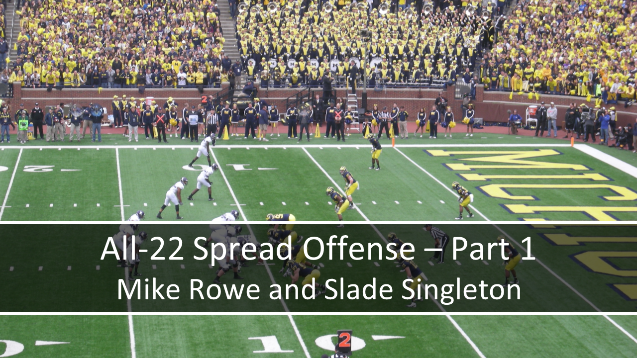 All-22 Spread Offense - Part 1