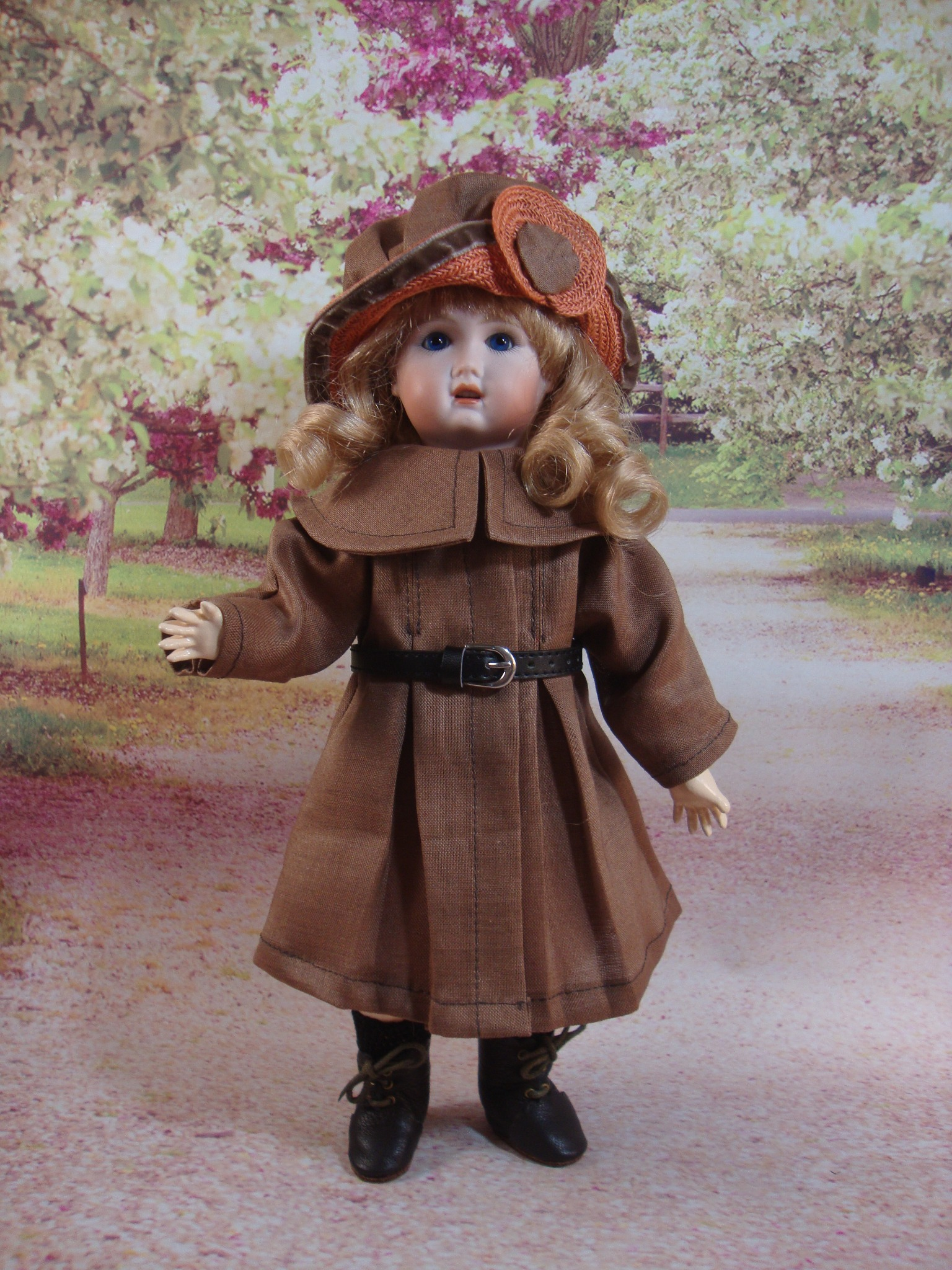 Bleuette Pattern Touriste Coat and Hat & Vendeen Hat