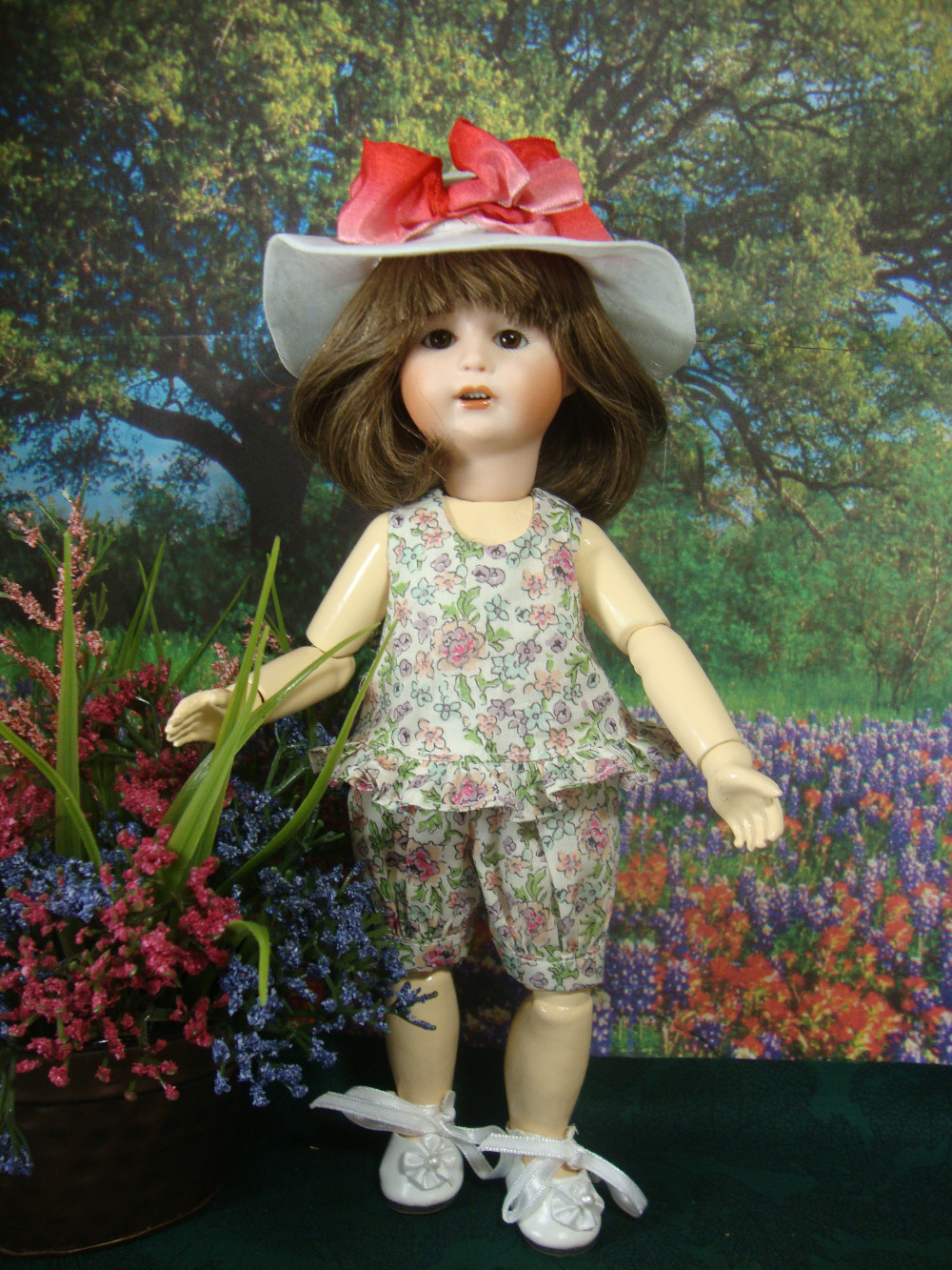 Loulotte Pattern Summer Play Outfit