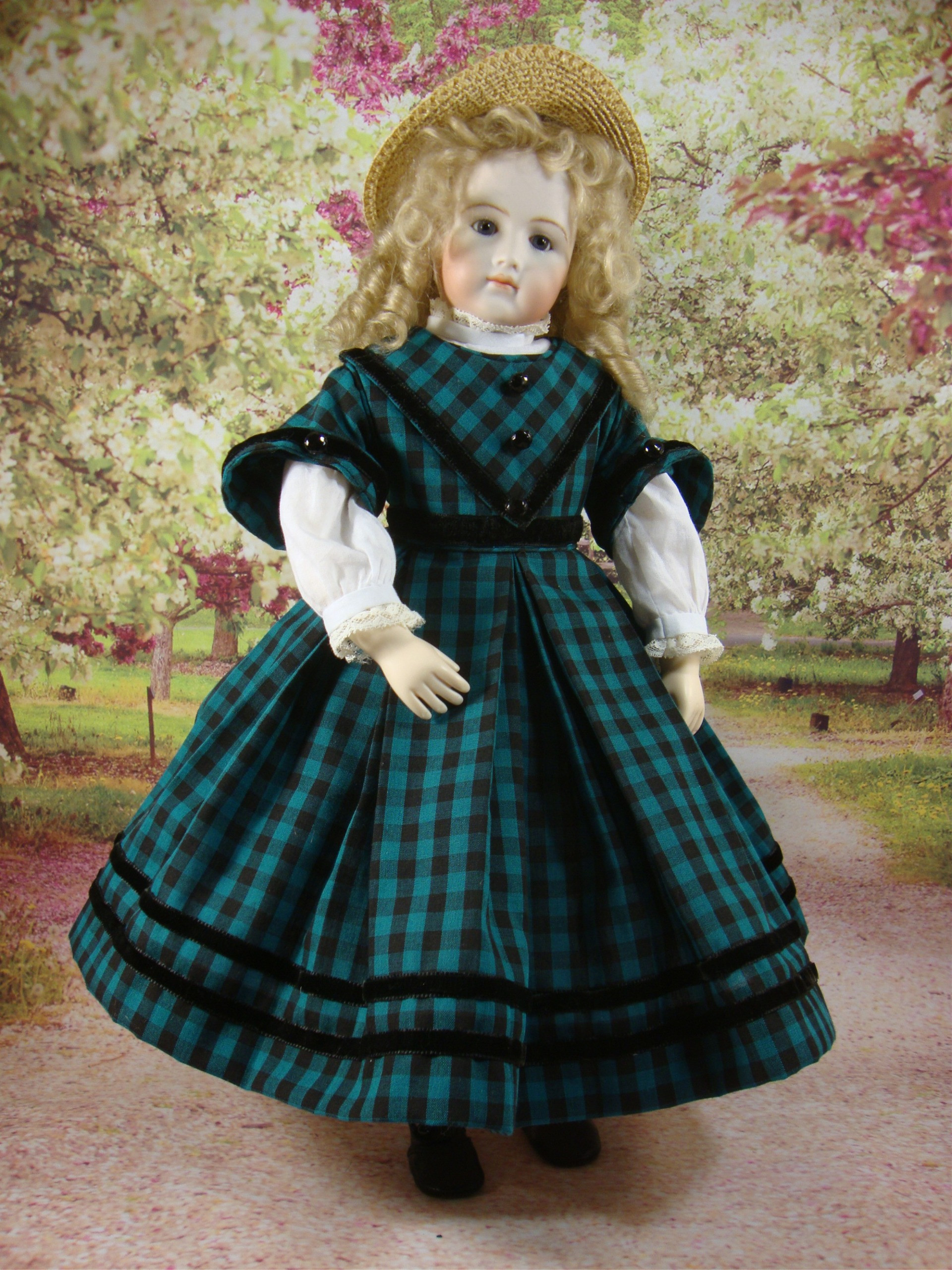 "Enfantine Dress and Blouse for 12.5"" Jointed Body"