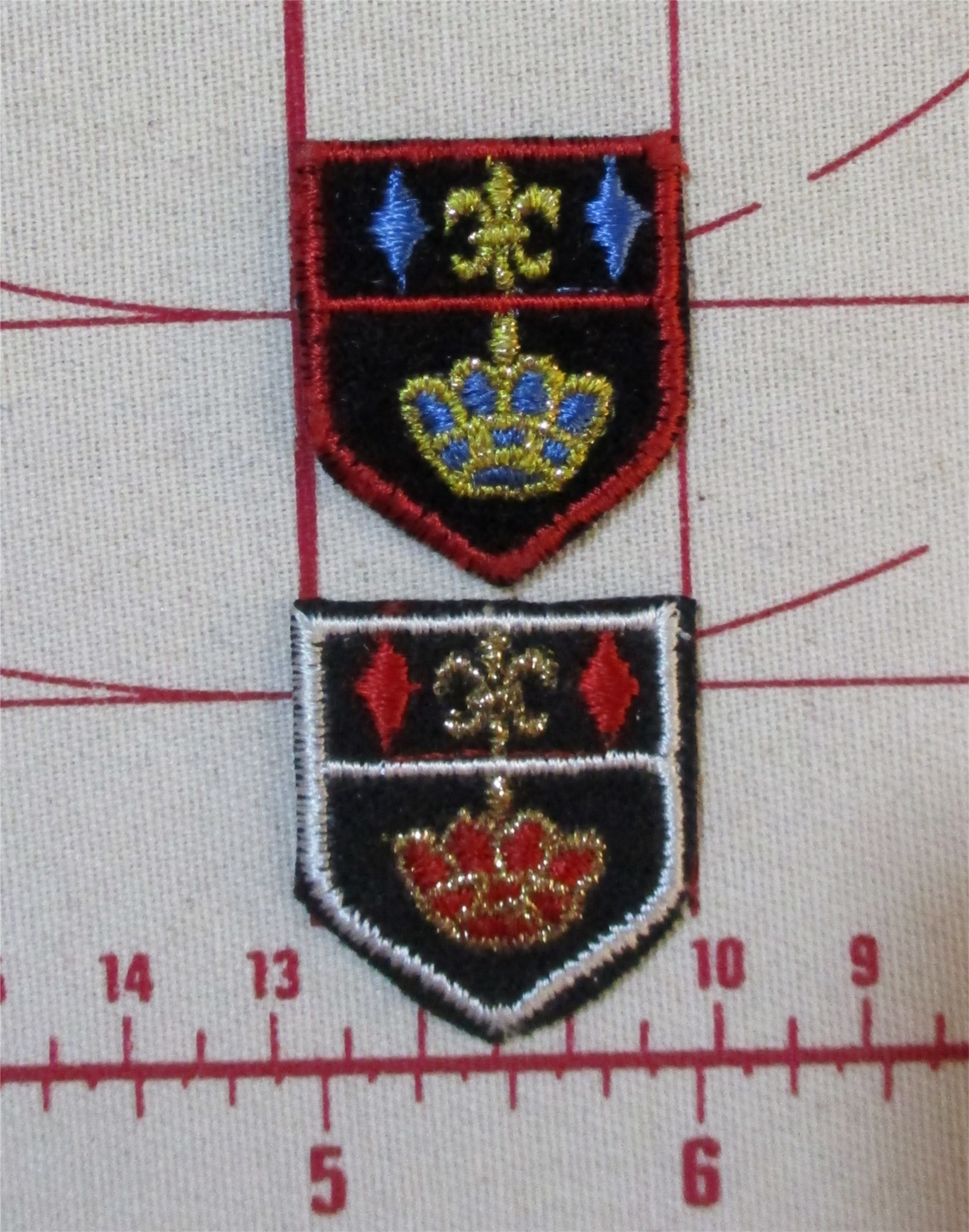 Princess Yachting Outfit Patches