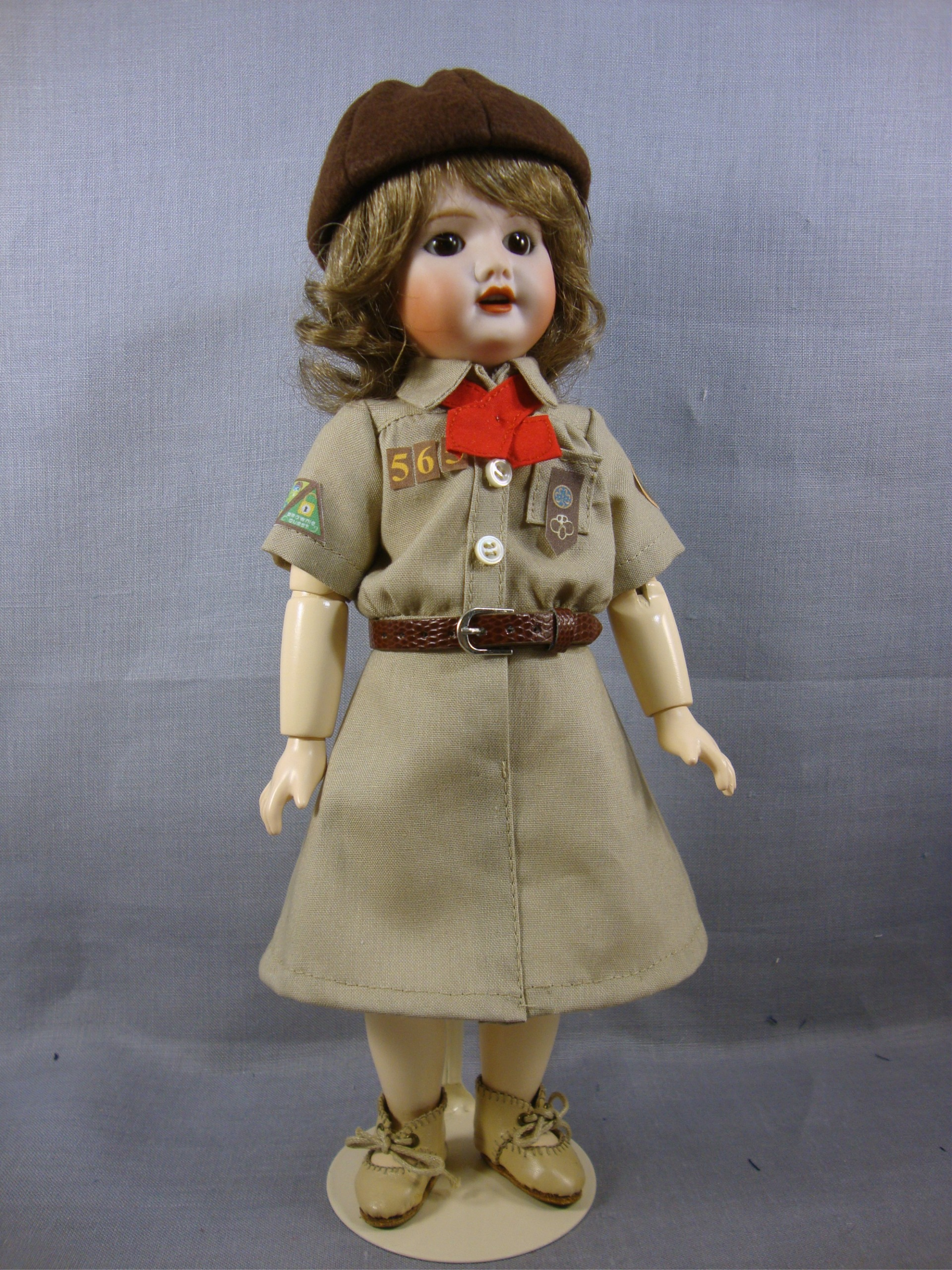 Bleuette Brownie Scout Pattern