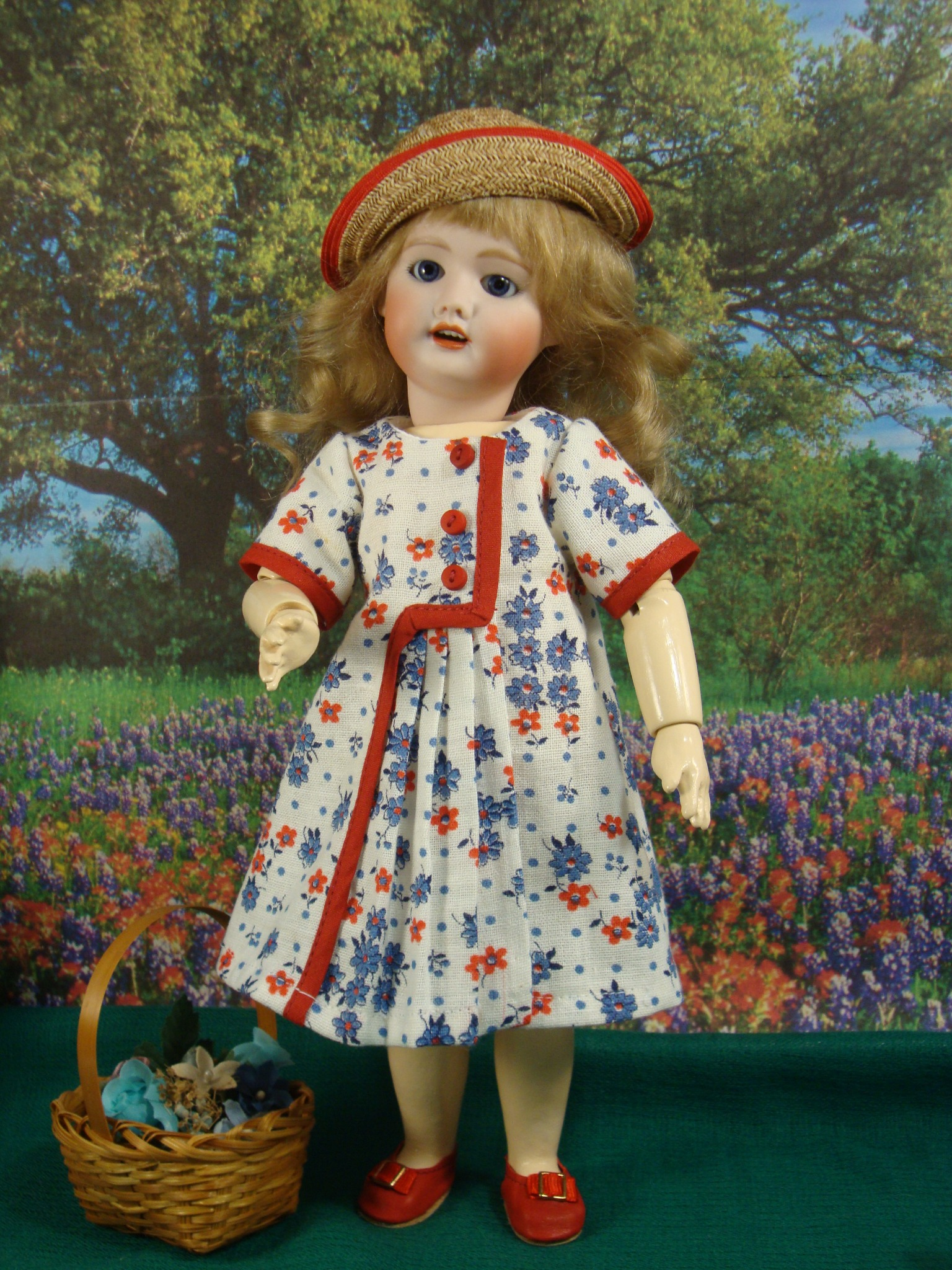 Bleuette Pattern La Jolie Saison Dress