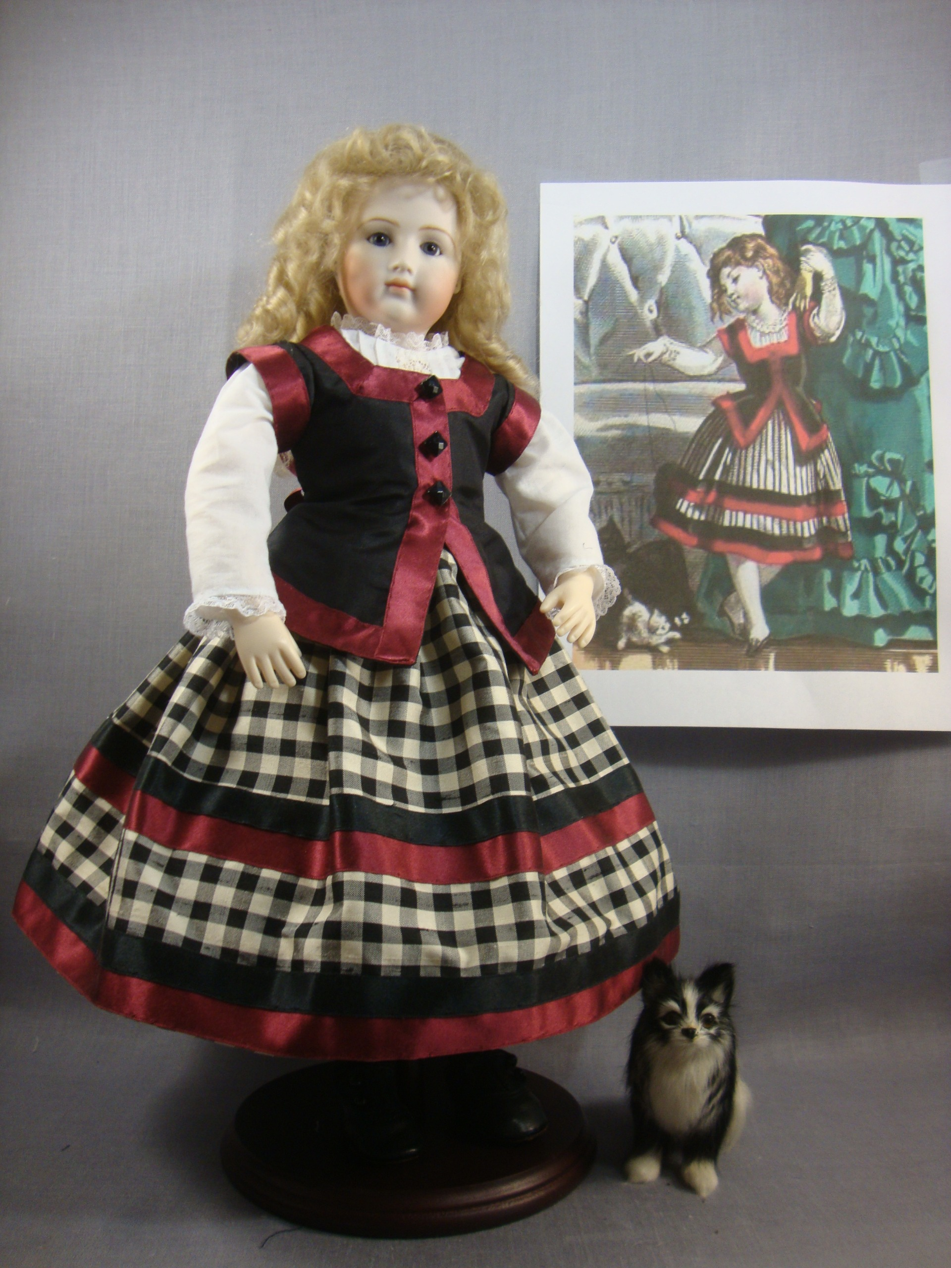Enfantine Christmas Dress Pattern for 12.5