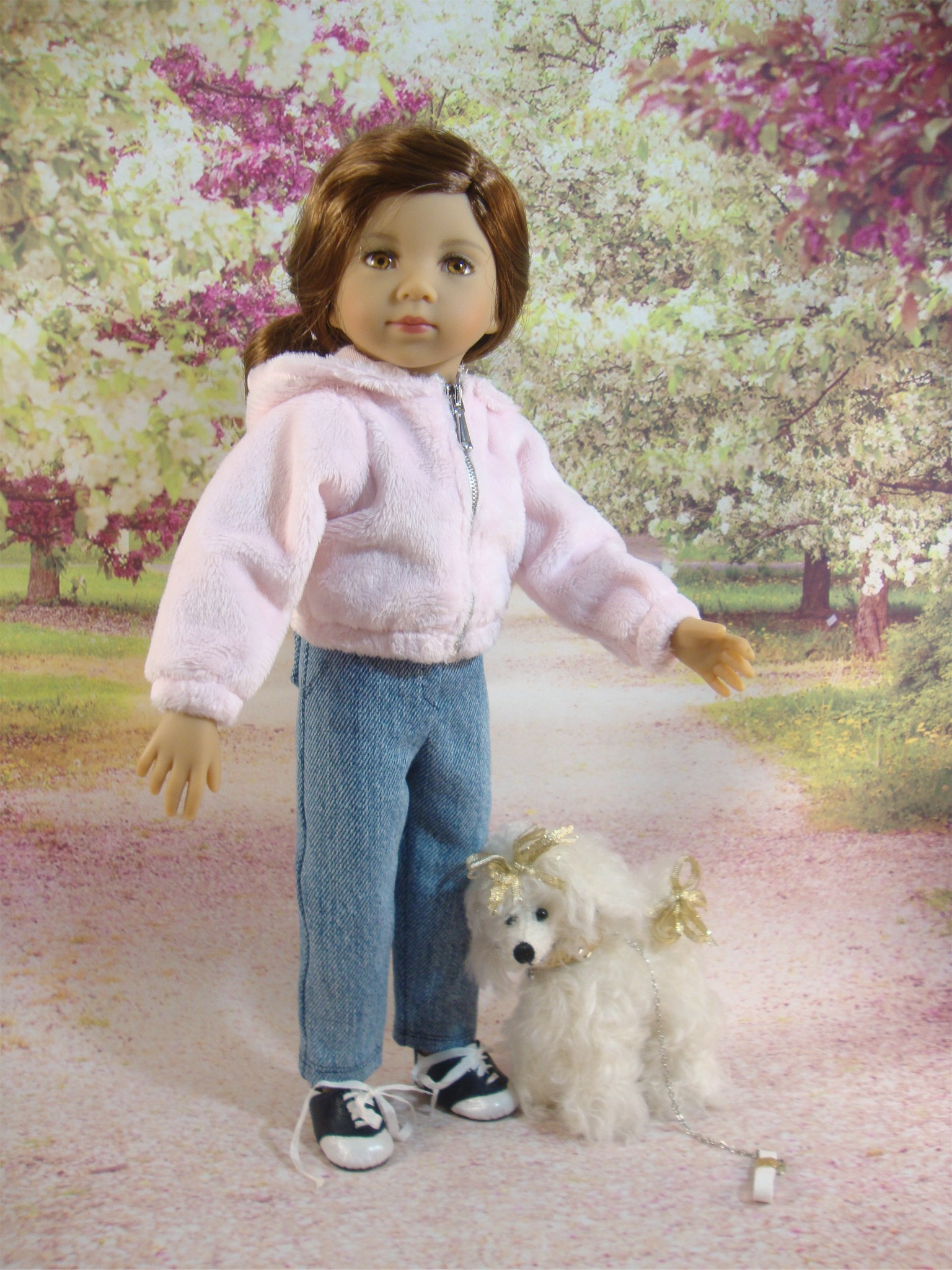 """Hoodie and Jeans Pattern for 13"""" Little Darling"""
