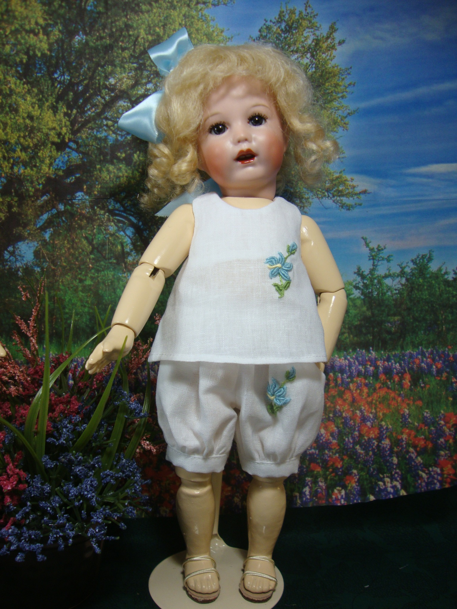 Bleuette Summer Play Outfit Pattern