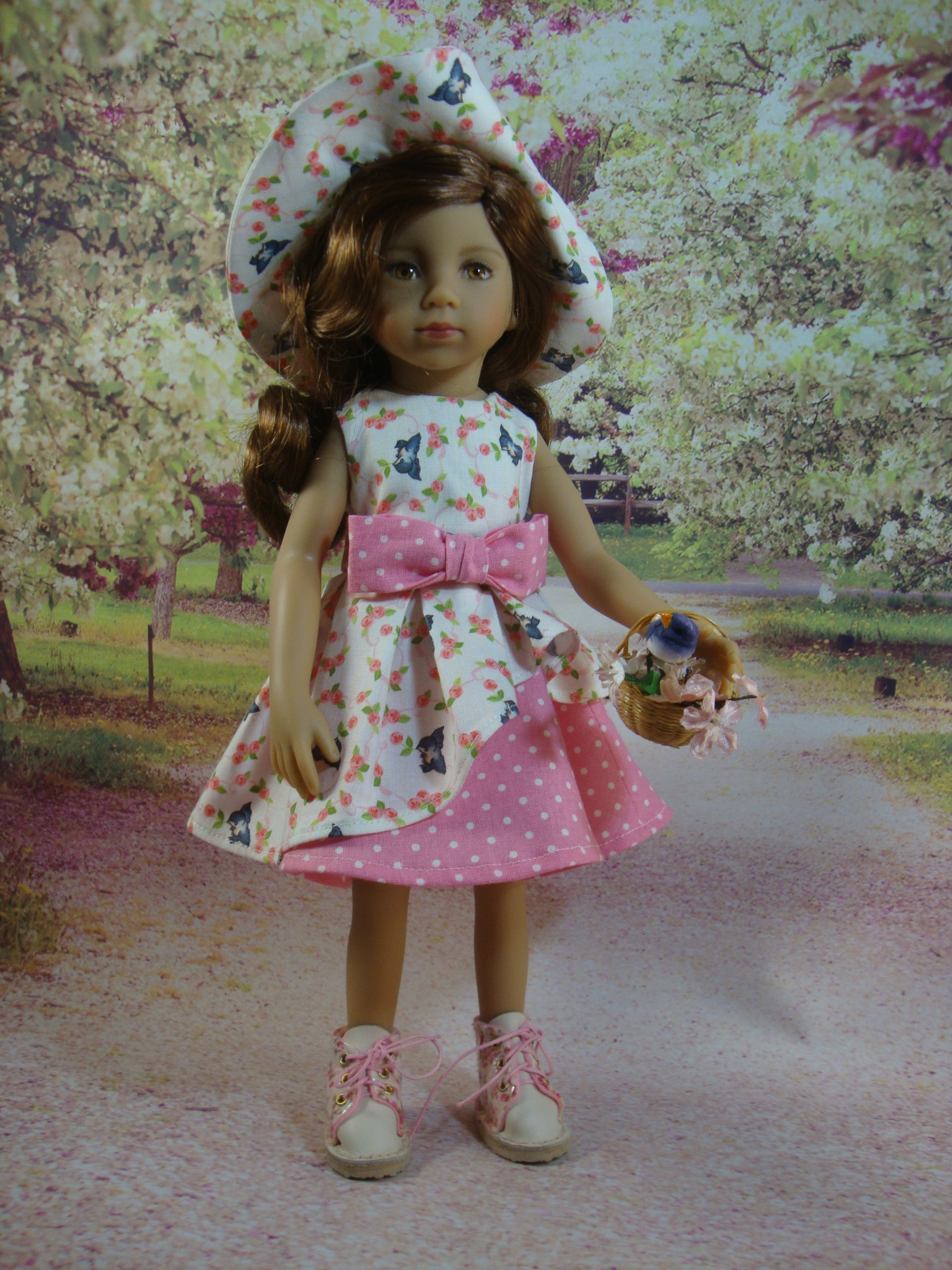 Little Darling Summer Dress and Hat