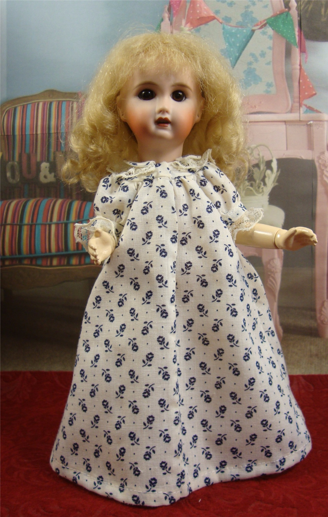 Loulotte Pattern 1940's Nightgown