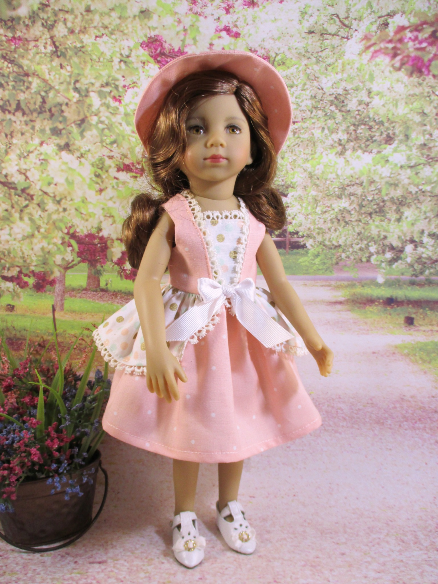 Little Darling/Maru Summer Party Dress and Hat