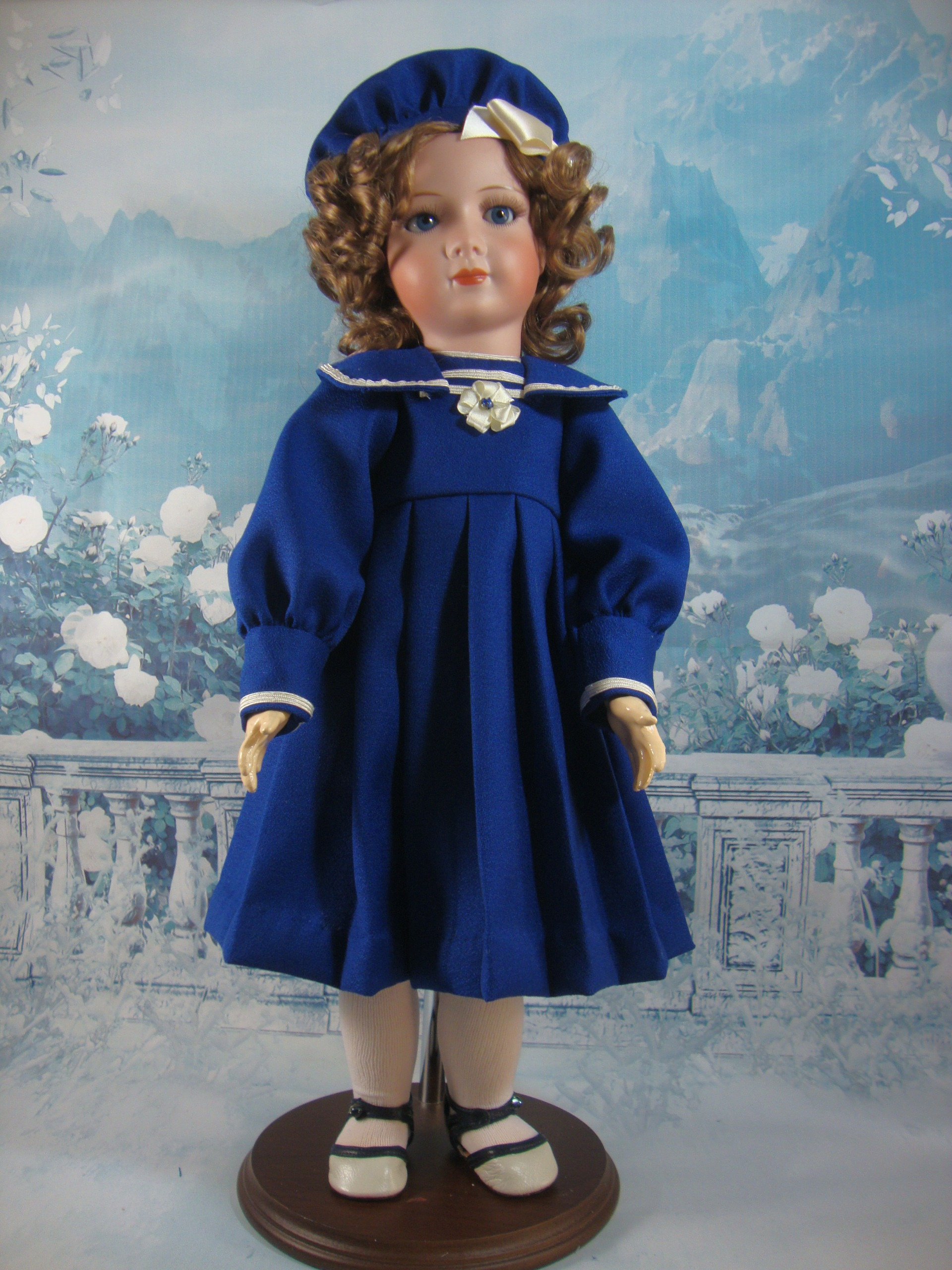 Sailor Dress and Hat Pattern for Princess