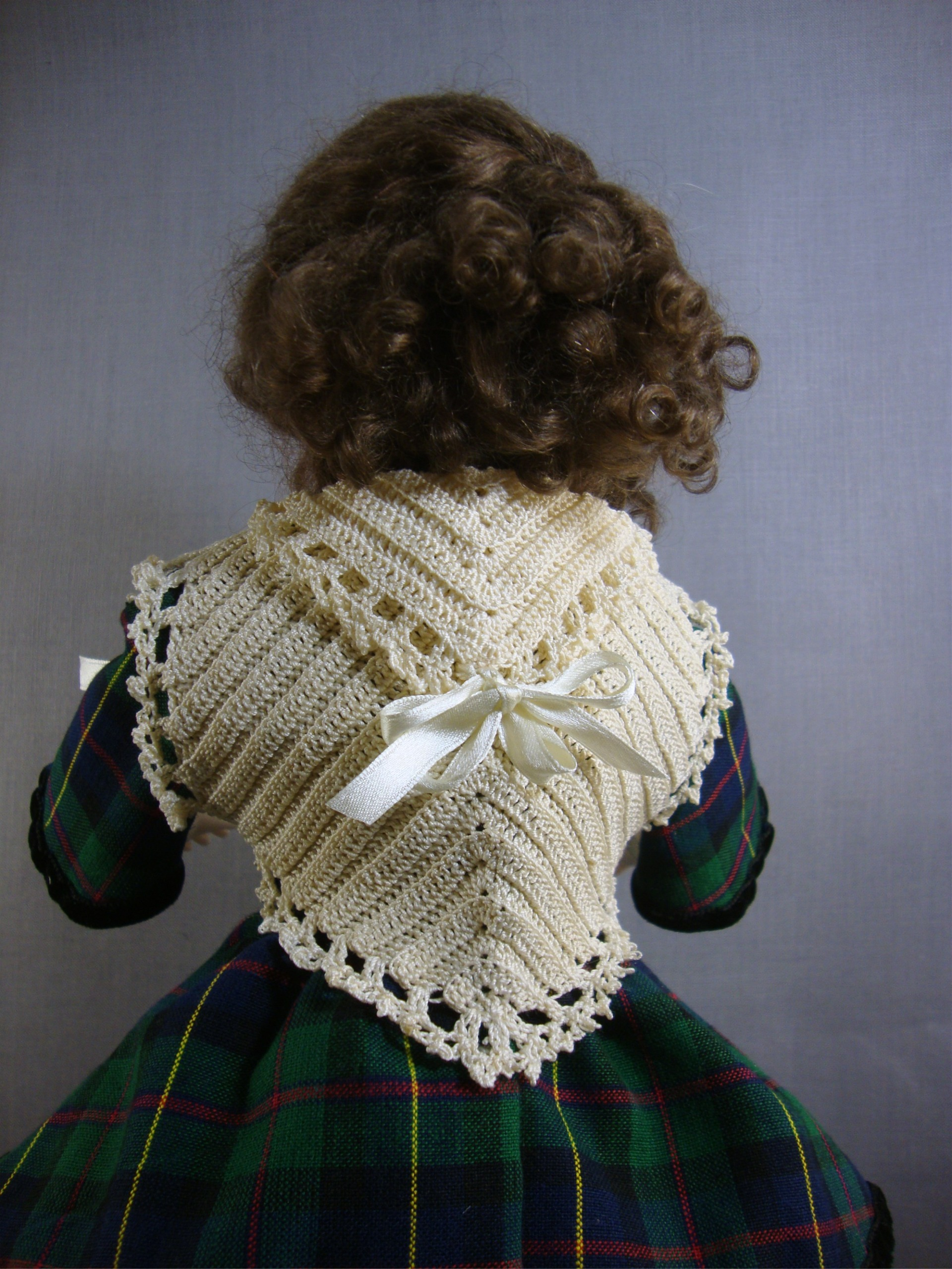 Crochet Pattern for Shawl, Purse and Stockings