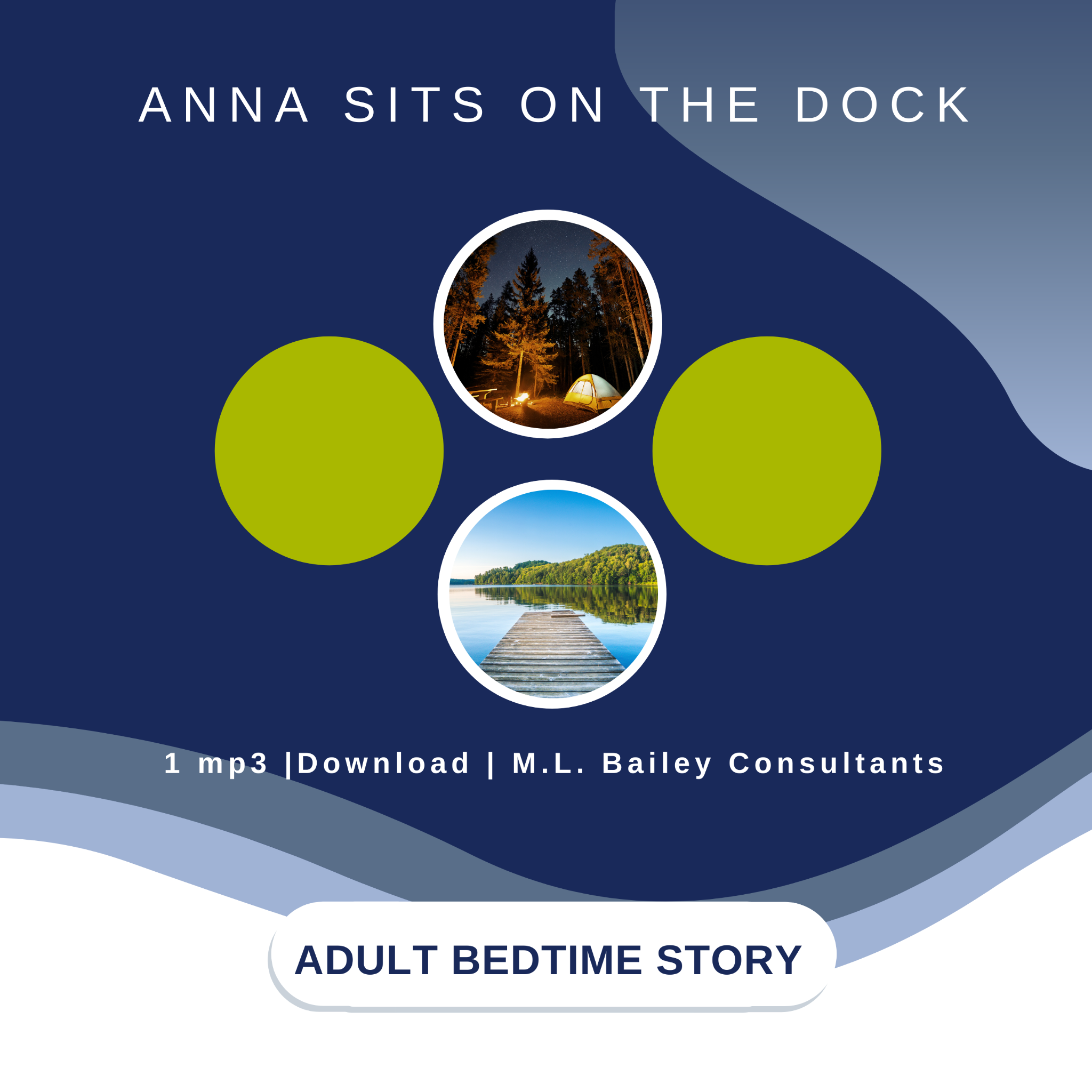Anna Sits on the Dock