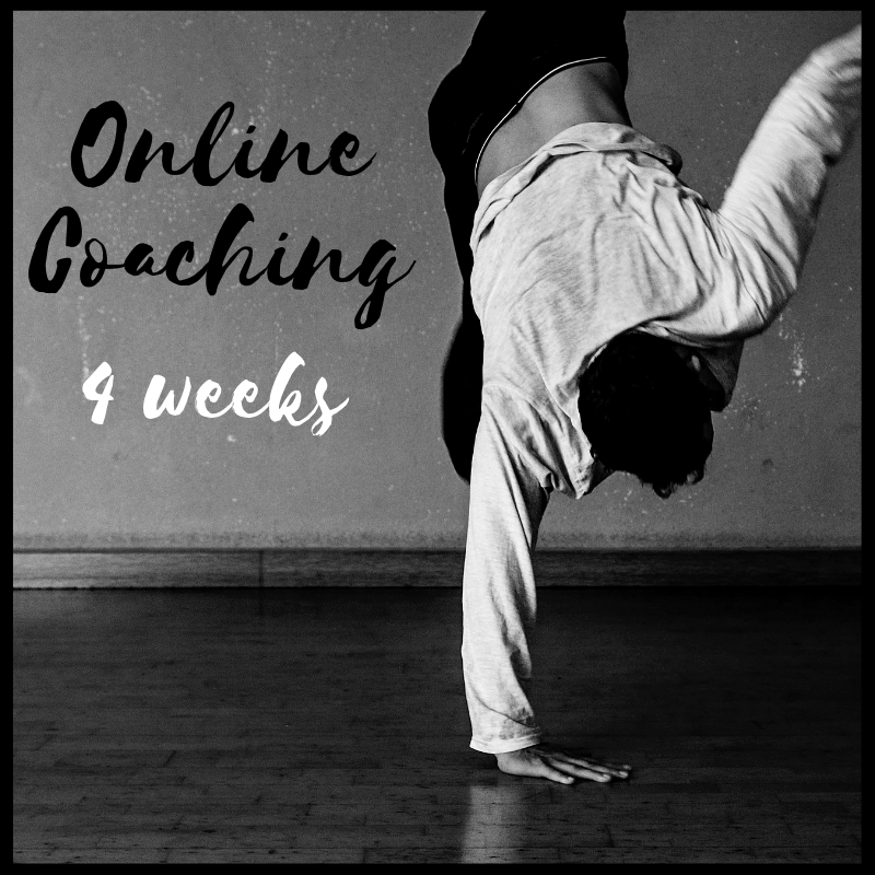 Online coaching 4 weeks