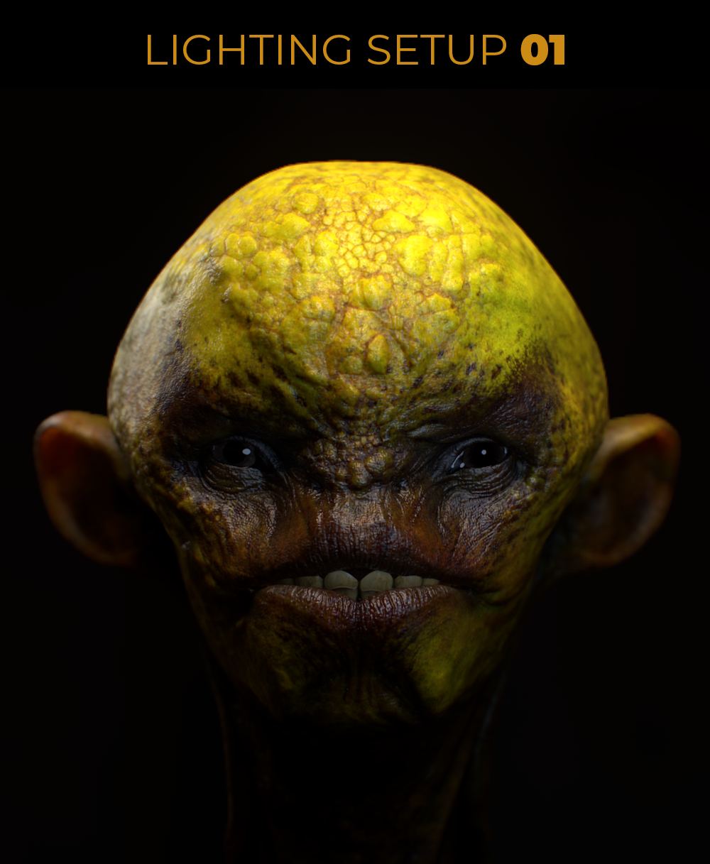 Marmoset Reference File - Areasi Alien Head