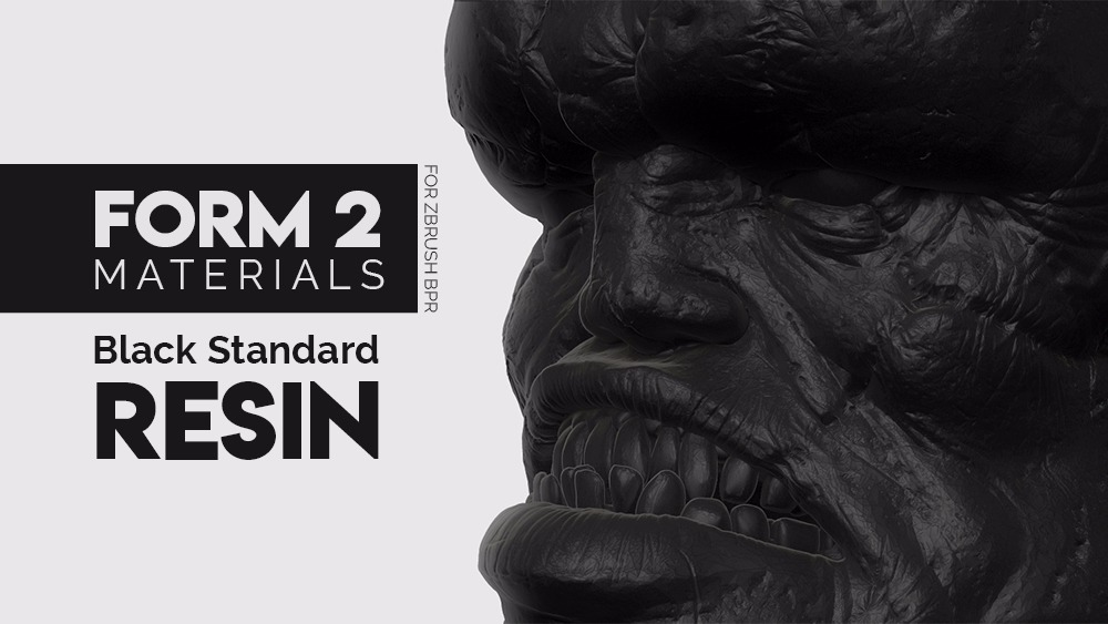 ZBrush FORM Materials Pack