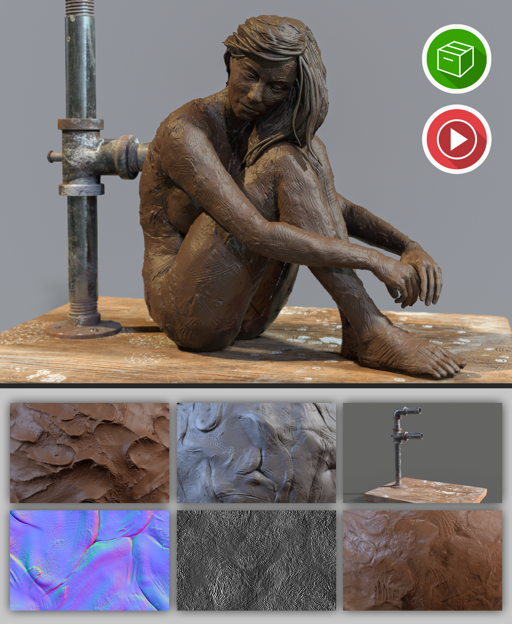Digital Clay Pack