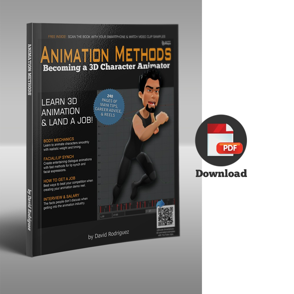 Becoming a 3D Character Animator - PDF file