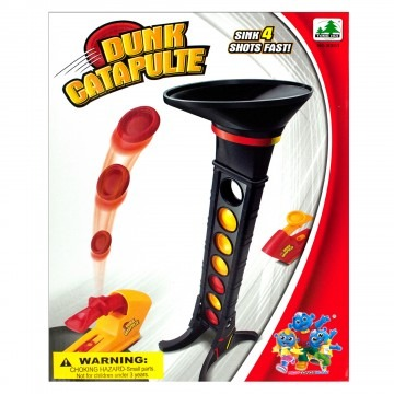 Catapult Dunk Shooting Line Up Game