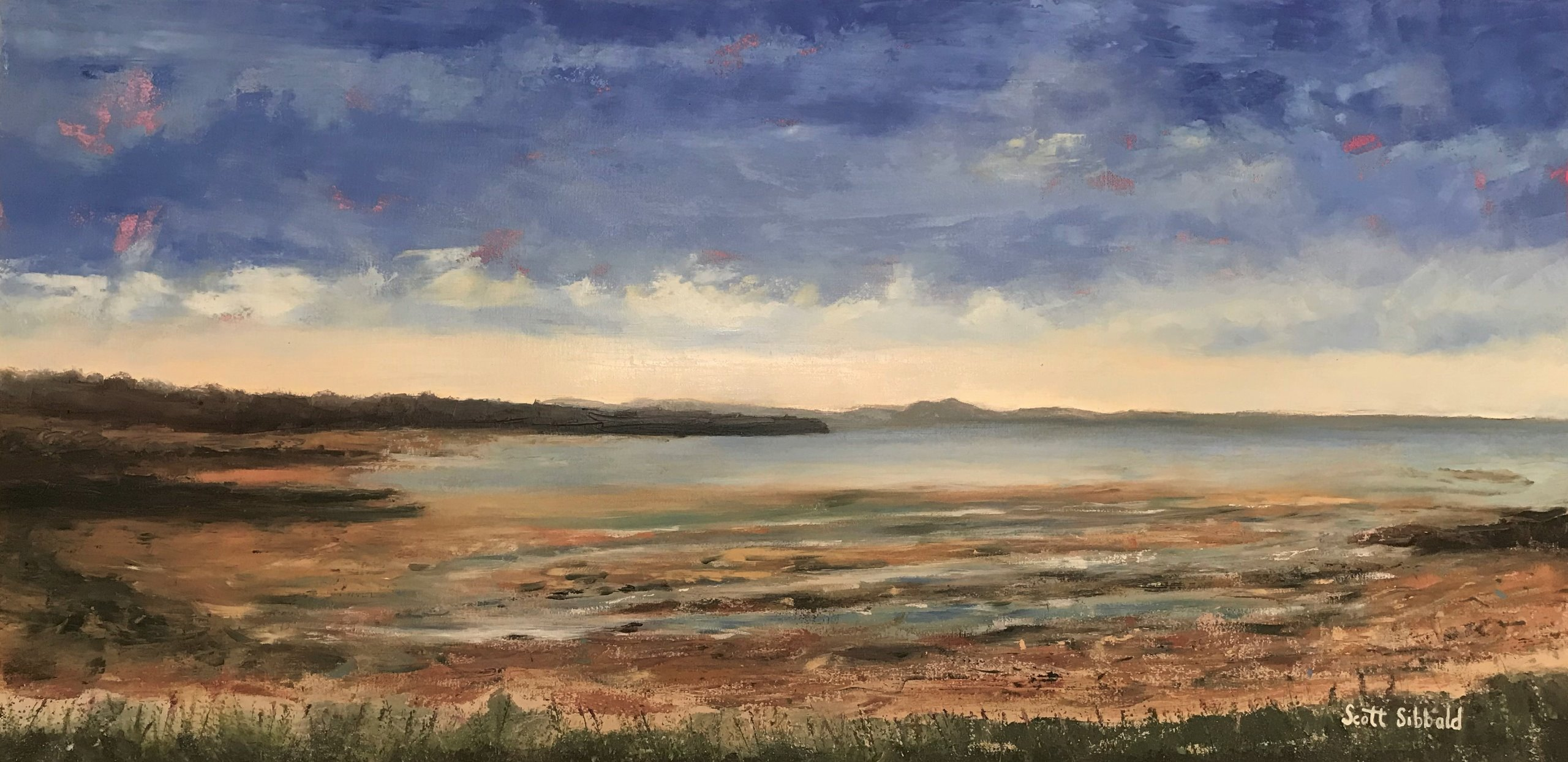 Longniddry Bents Oil on Canvas