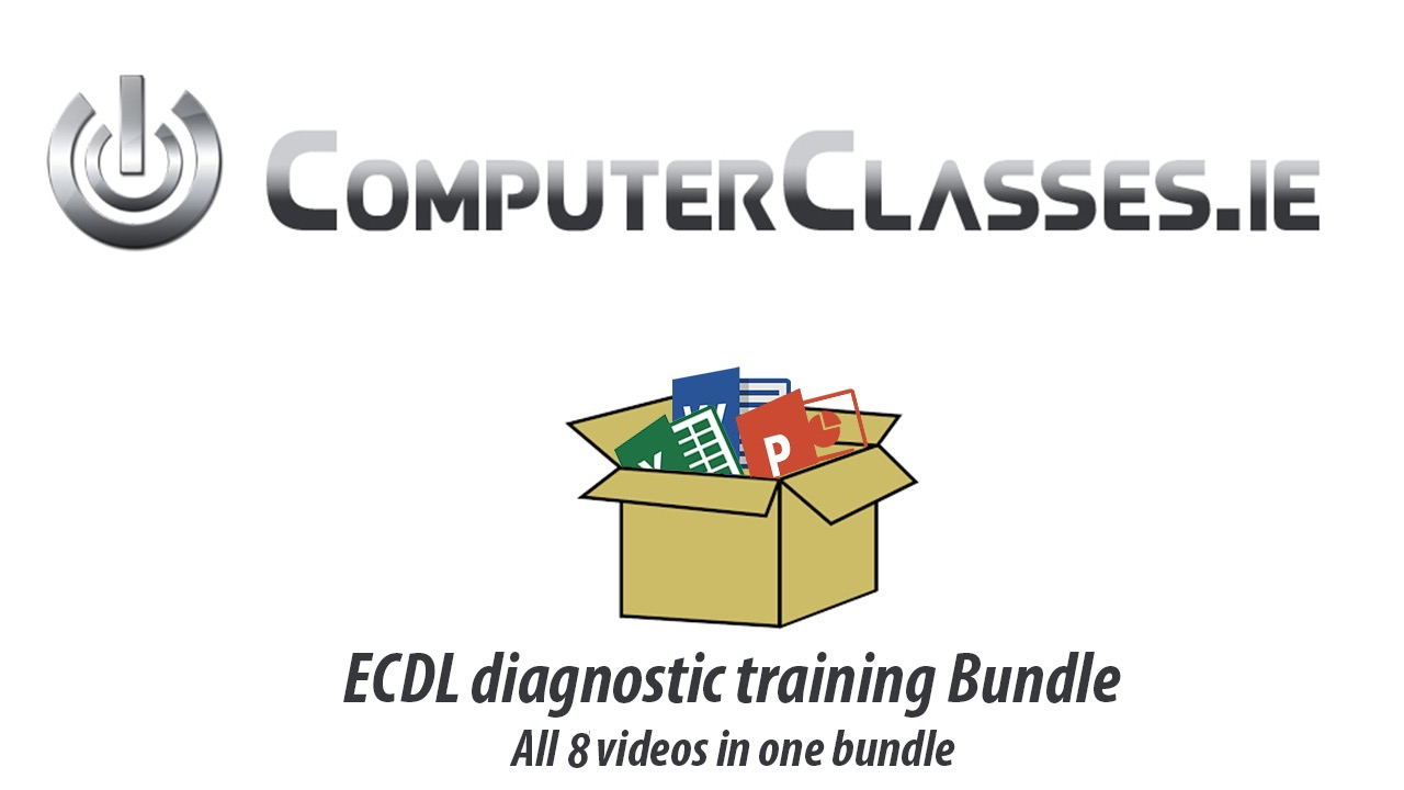 ECDL ICDL DIAGNOSTIC BUNDLE