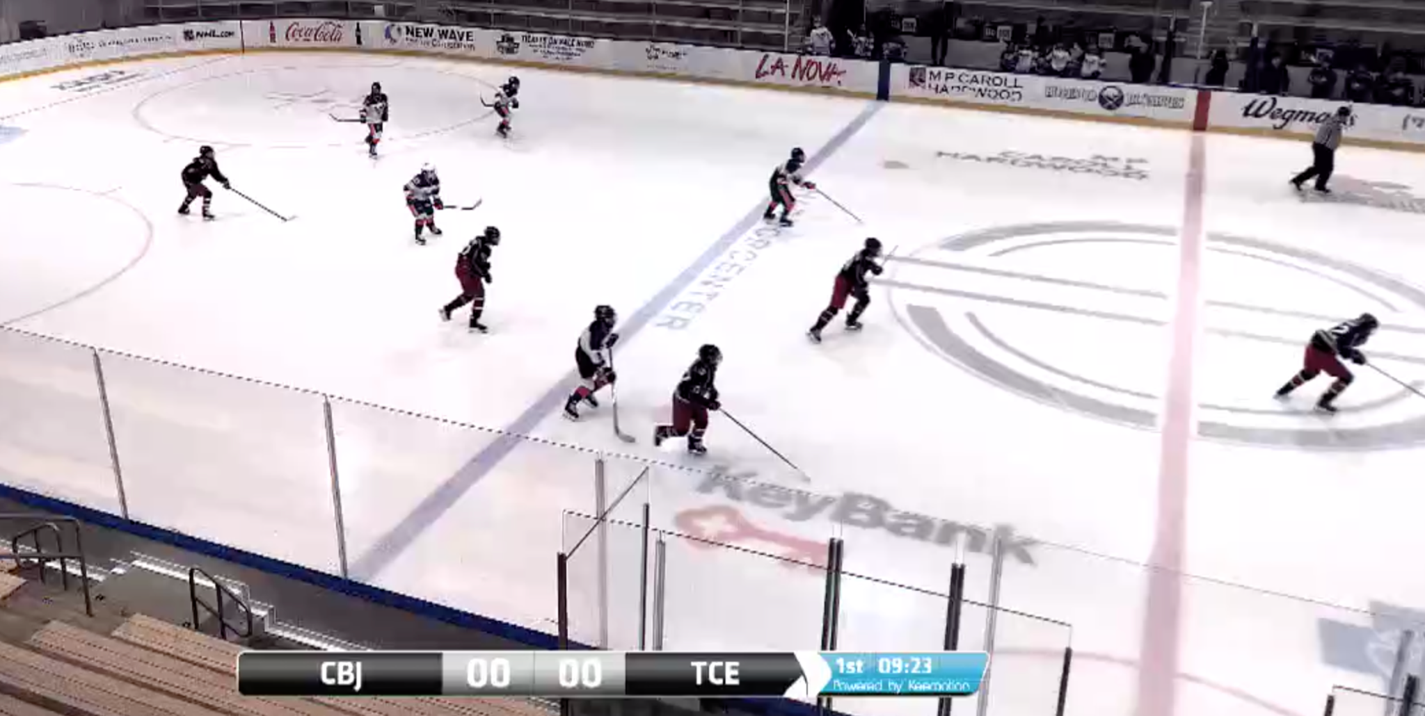 1-6-2019 Columbus Blue Jackets @ Tri-City Eagles