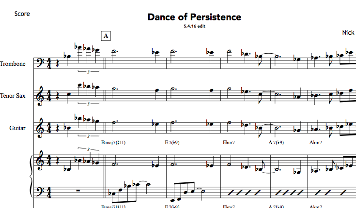 Dance of Persistence PDFs (from Hear & Now)