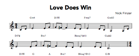 Love Wins PDF (from Hear & Now)