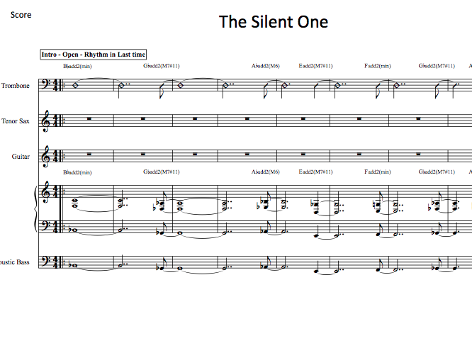 The Silent One PDFs (from Hear & Now)