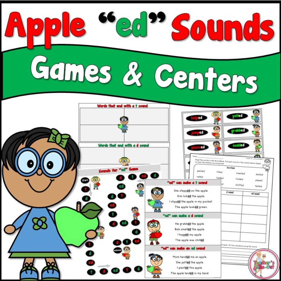 Apple ed Sounds Games and Centers