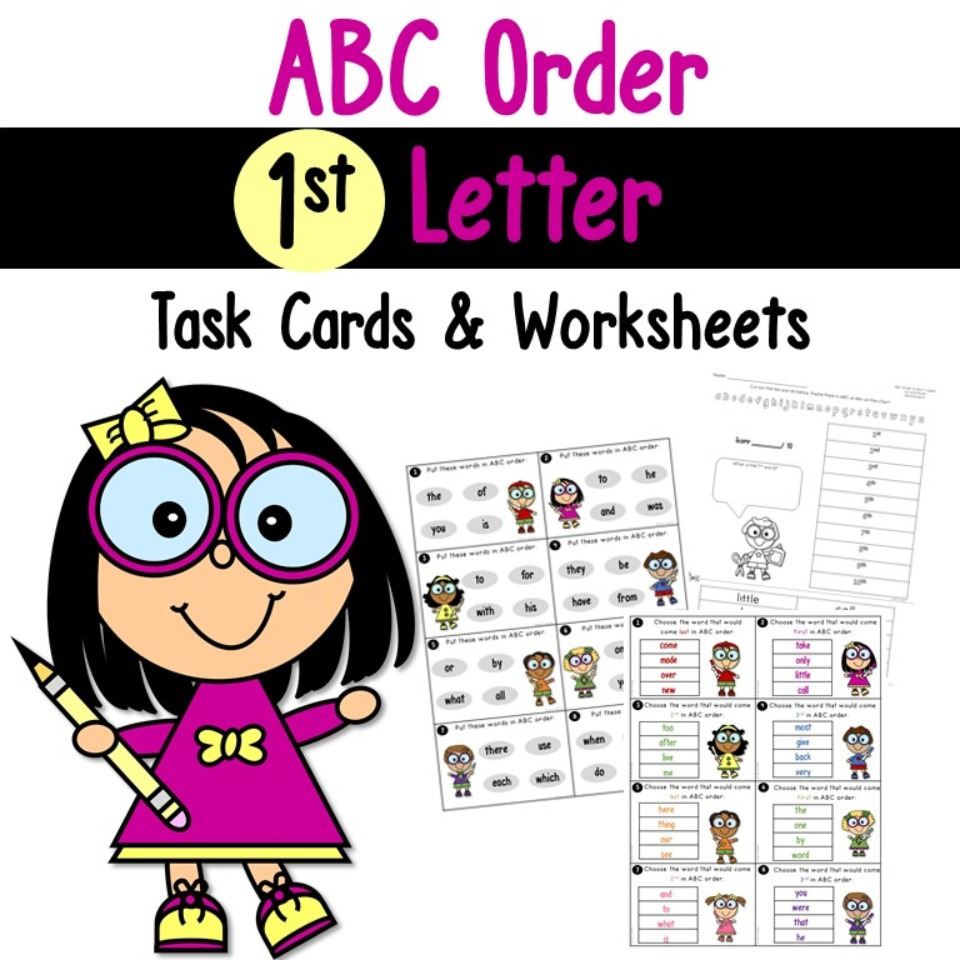 ABC Order to the 1st Letter
