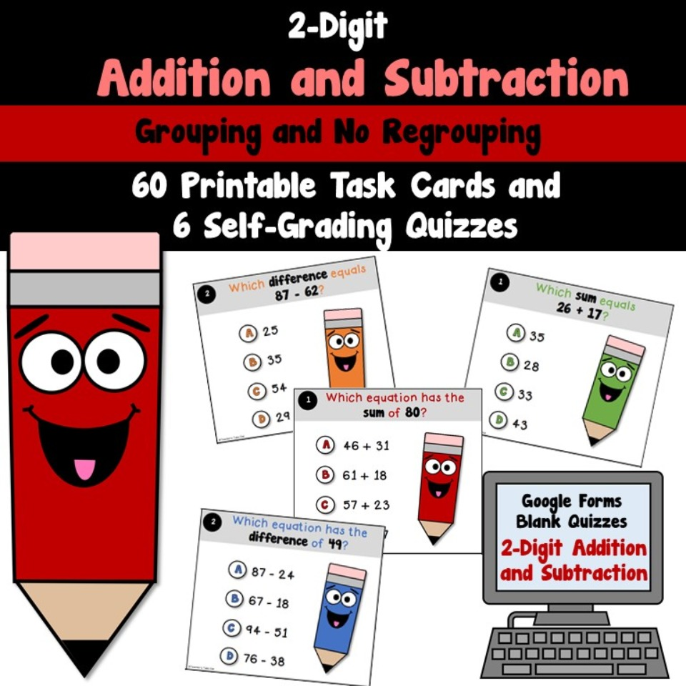 2-Digit Addition and Subtraction