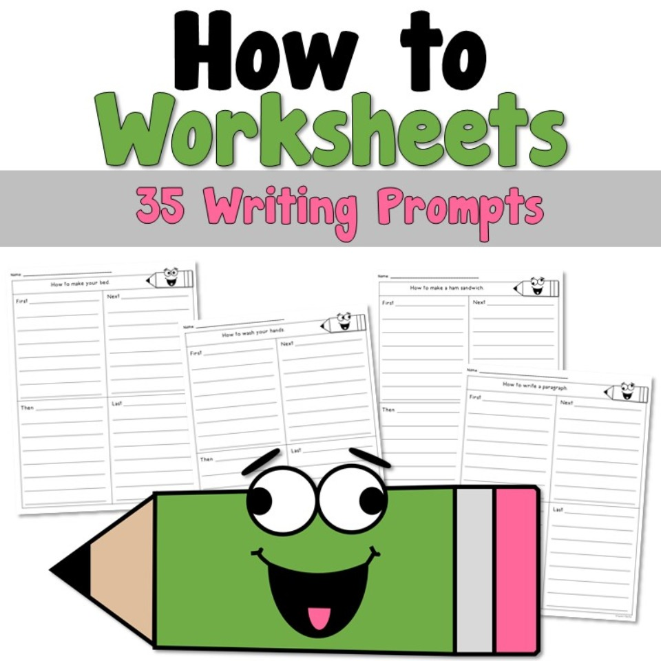 How To Writing Prompts Worksheets