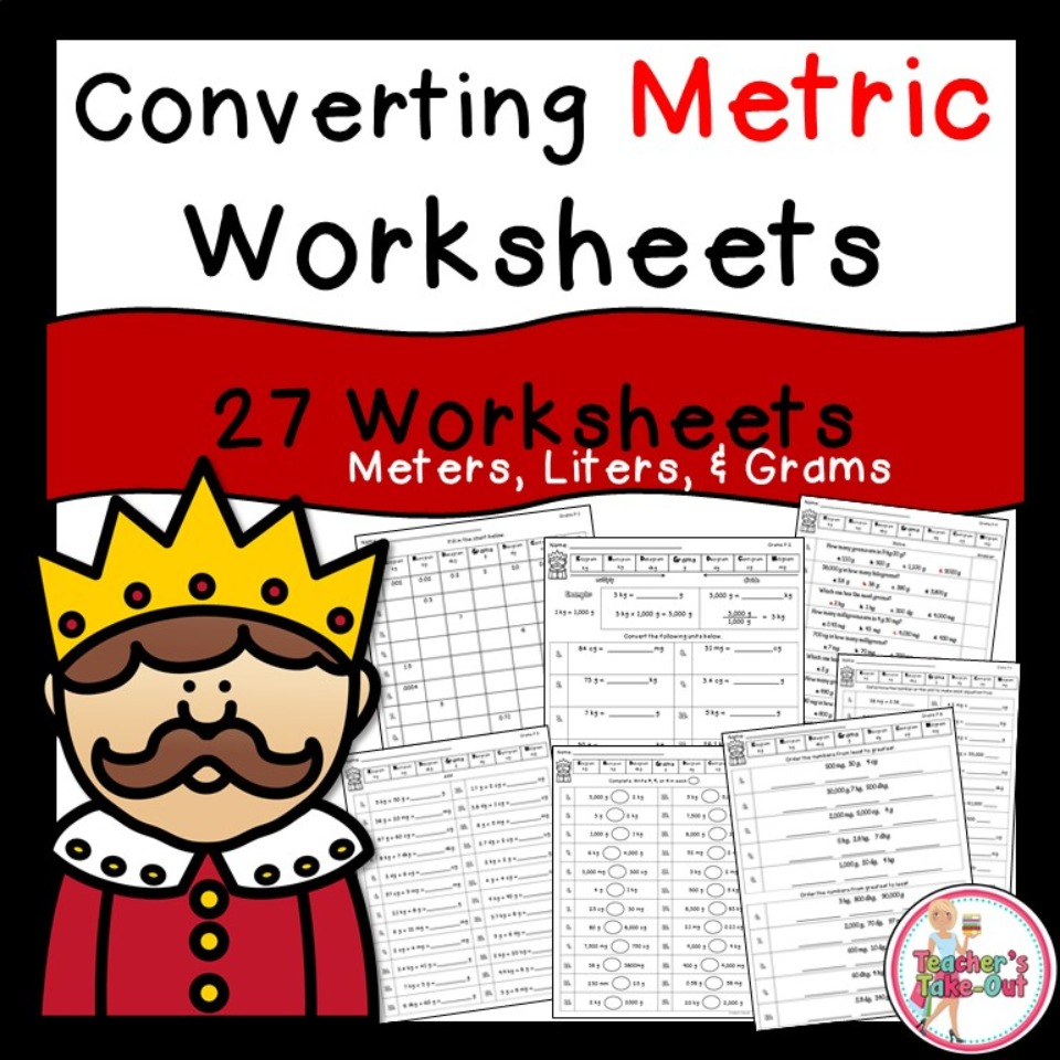 Metric Worksheets