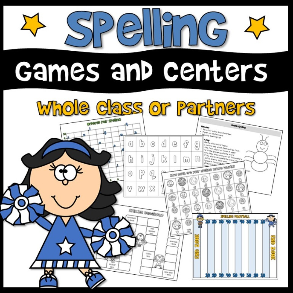 Spelling Games and Centers