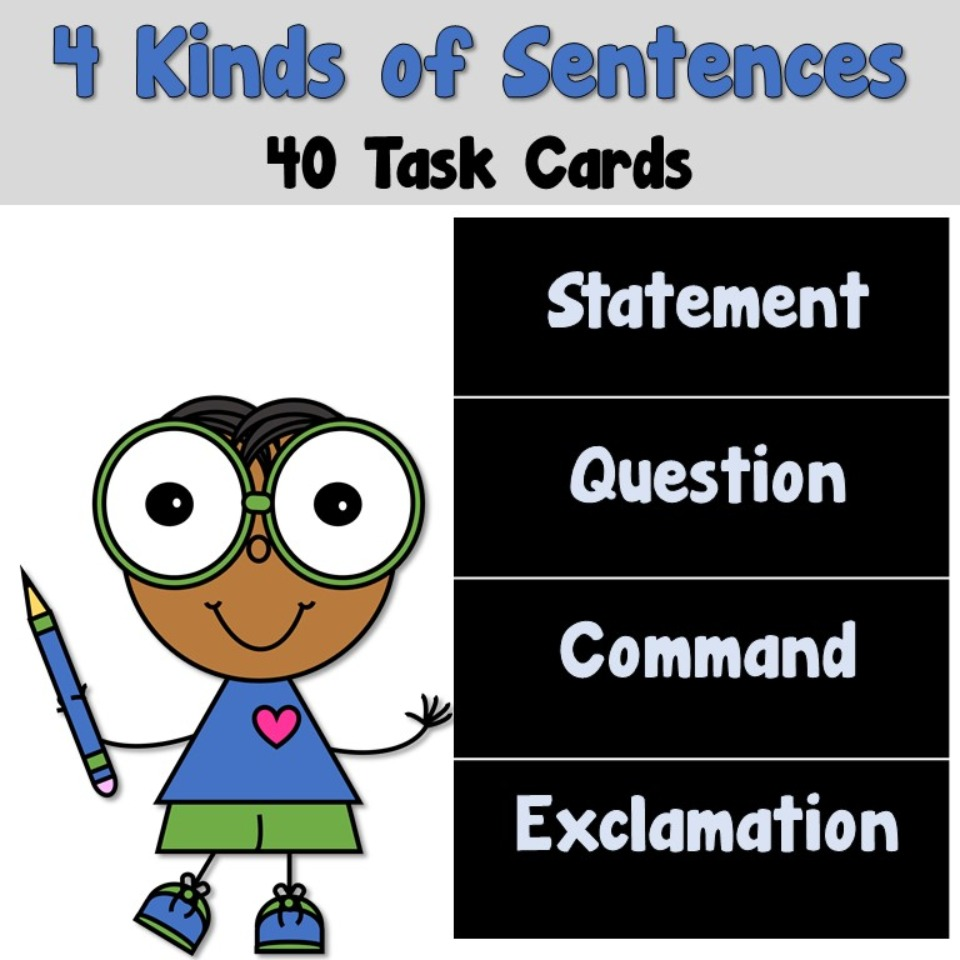 4 Kinds of Sentences (Statement)