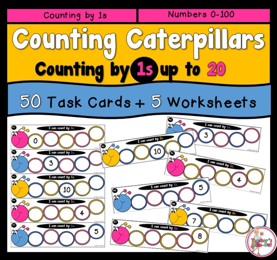 Counting Caterpillars 0 to 20