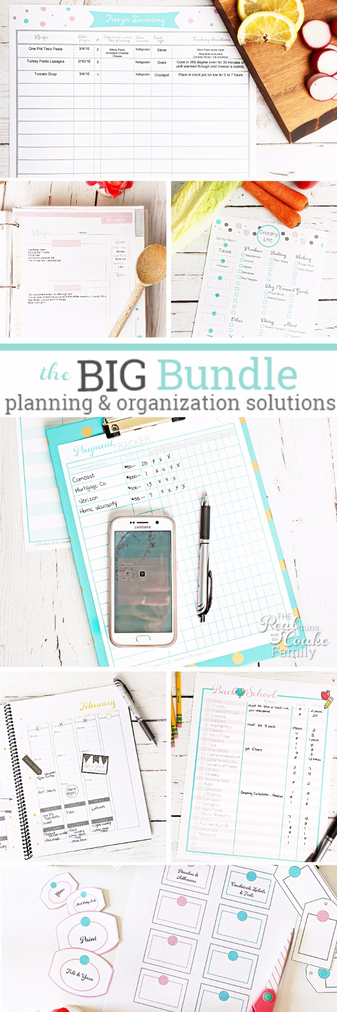 Get Your Home & Family Organized Big Bundle