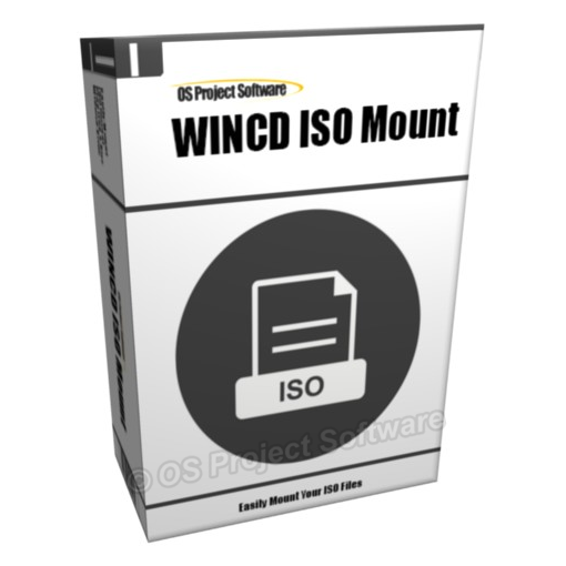 WINCD ISO Mount