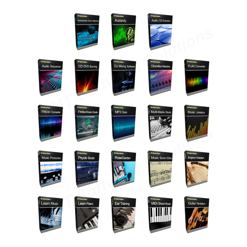 Collection - Music and Notation Software Complete