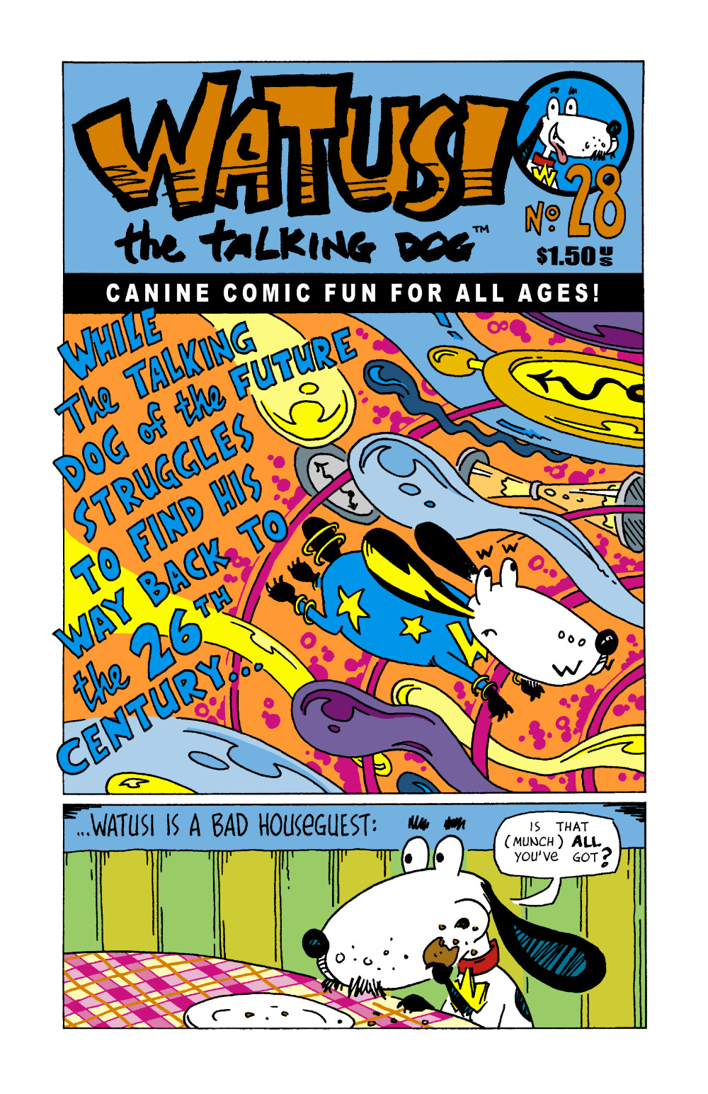 Watusi the Talking Dog #28 [.pdf ed.]