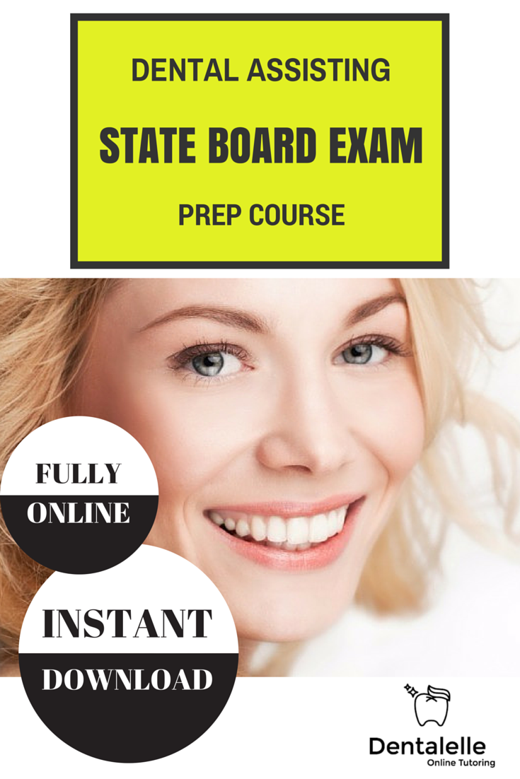 Dental Assisting State Exam Prep Course