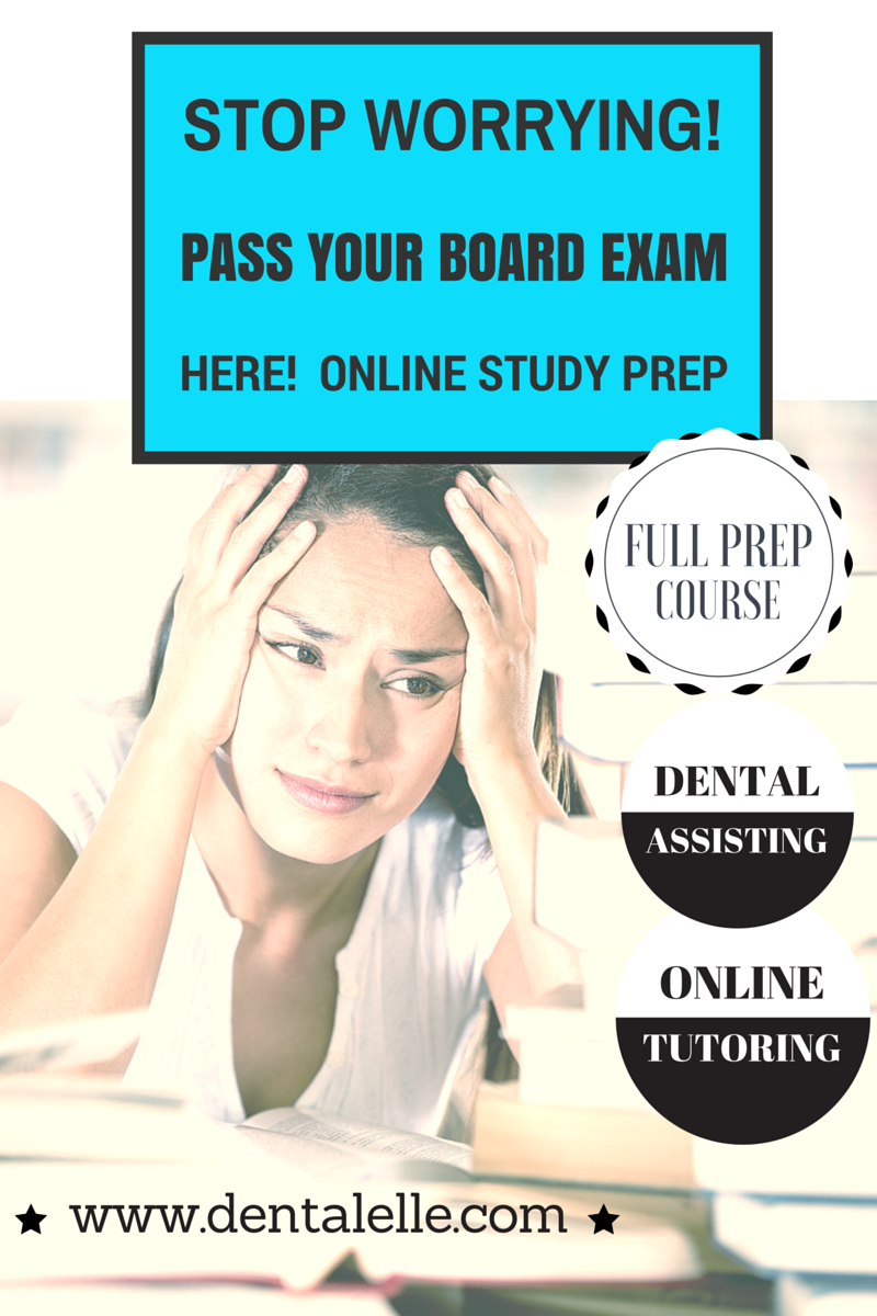 Dental Assisting Board Exam Prep Academy