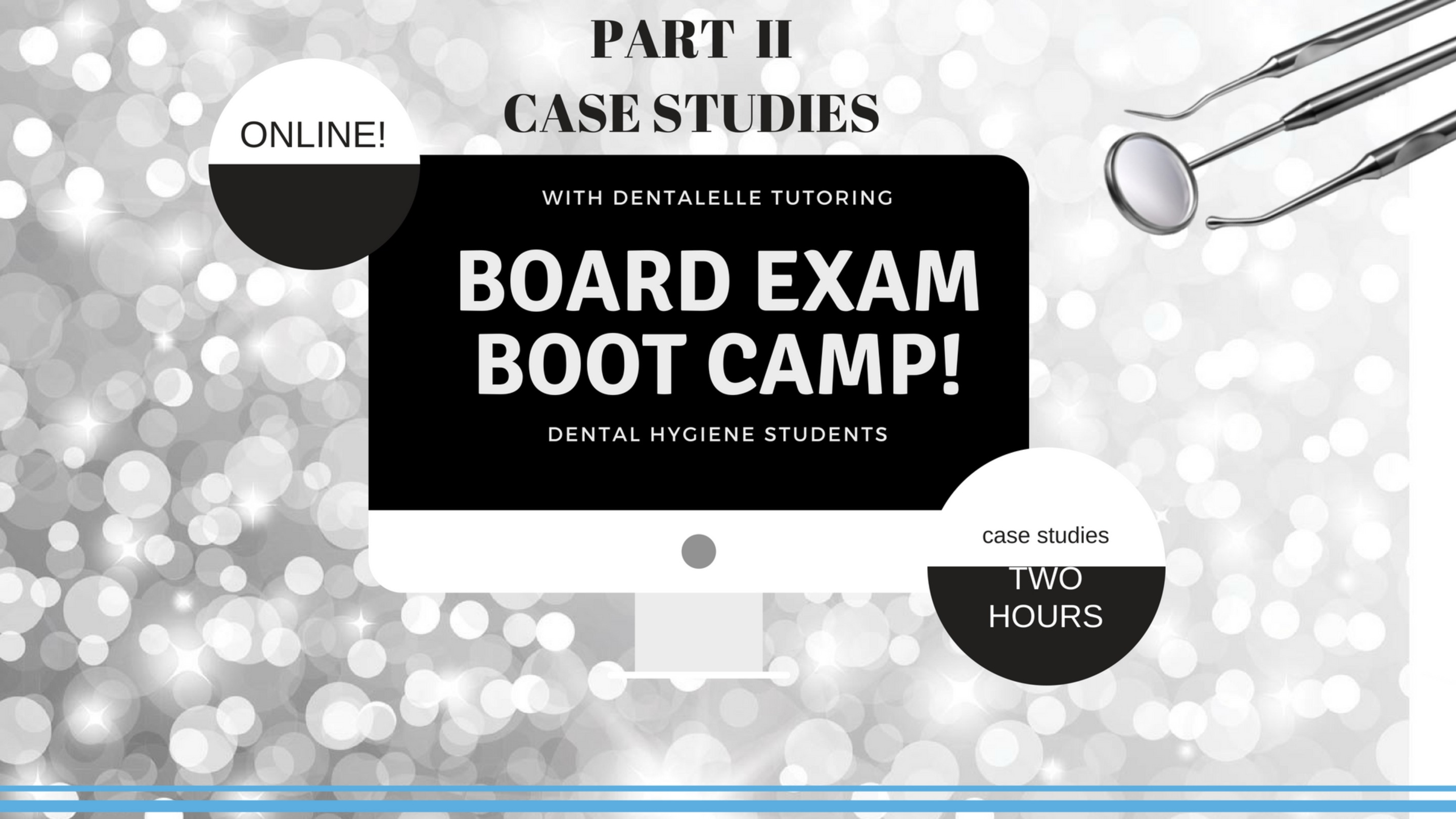 Part II Board Exam Boot Camp Recorded + Video + Case Studies