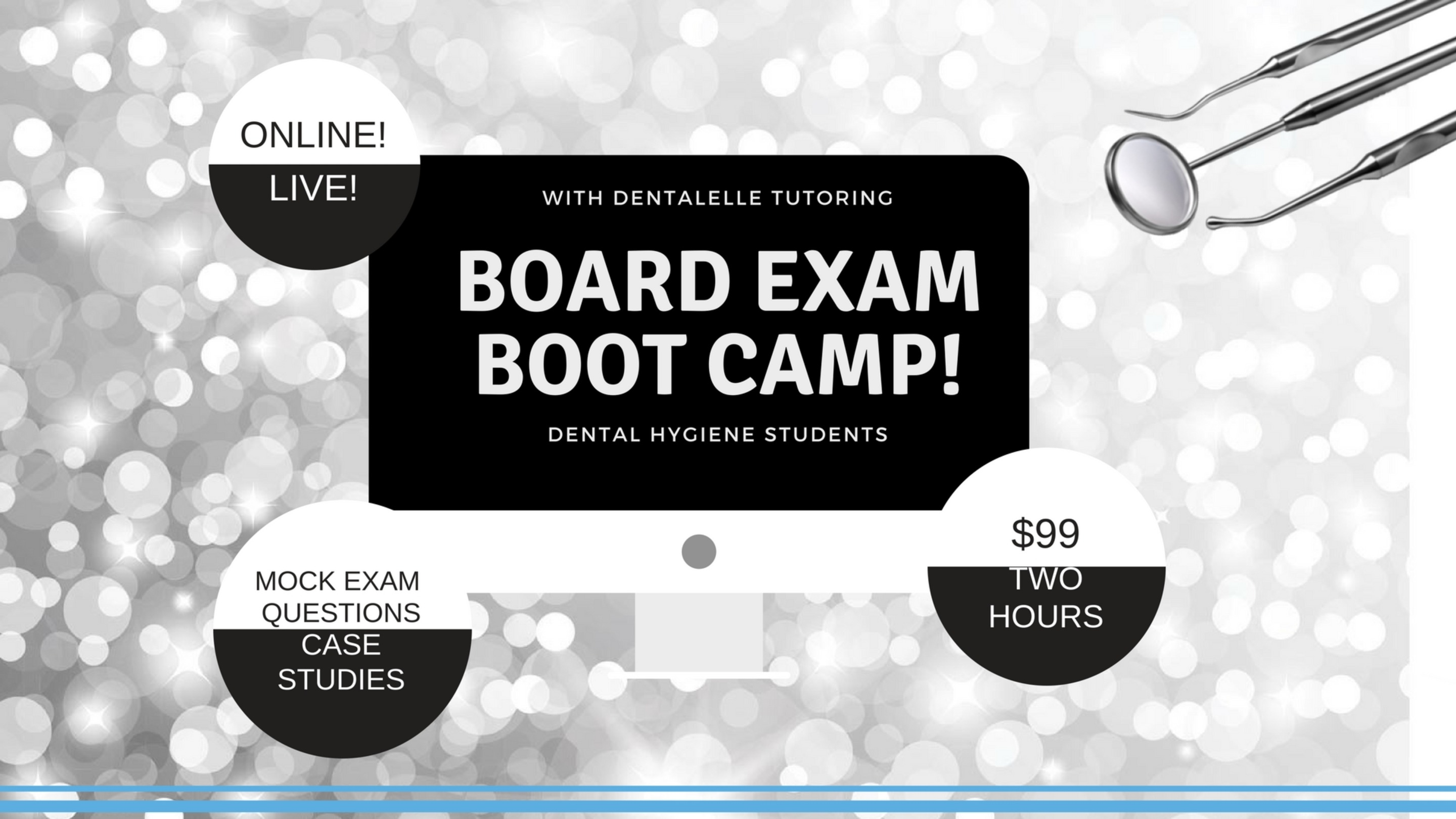 Part I Recorded Board Exam Boot Camp + Video for Dental Hygiene Students