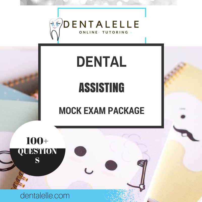Dental Assisting Mock Exam Package