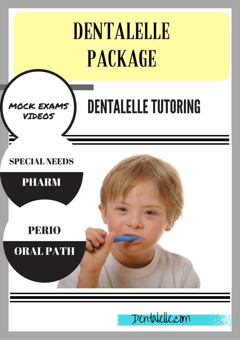 Dentalelle Package - Community, Oral Path, Perio, Special Needs, Community