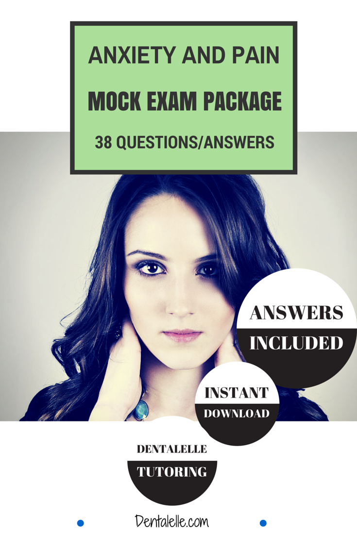 Anxiety and Pain Mock Exam Package