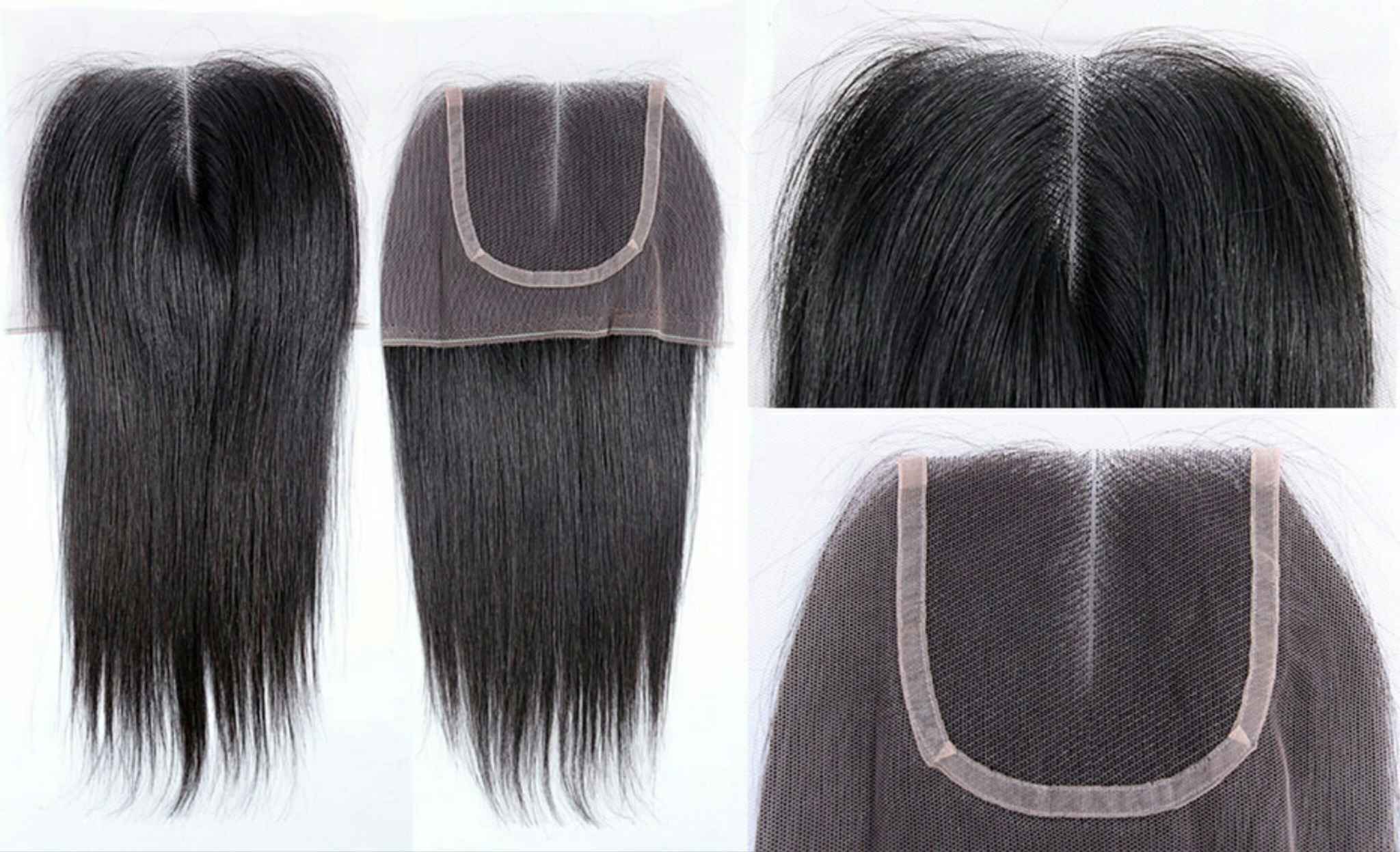 Lace closure Relaxed Natural